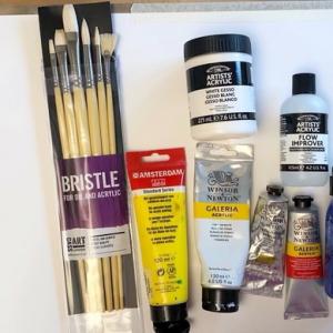 Basics of Acrylic painting