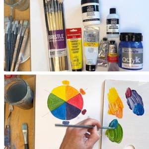 Acrylics beginners mini course